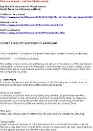 Partnership Agreement Between Companies Individual Document Pdf
