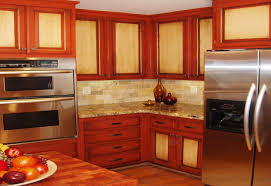 Red Cabinets In Kitchen Red Cedar Kitchen Cabinets Ricwilsonisme Cabinet Site