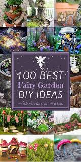 100 best diy fairy gardens