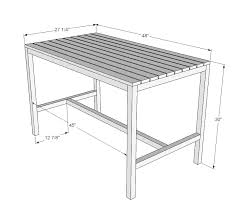 dining table for 12 measurements. harriet outdoor dining table for small spaces 12 measurements e