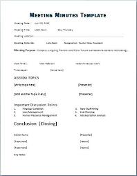 Sole Director Board Minutes Template Board Of Directors Minutes