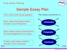 boardworks key stage english essay writing ppt  boardworks 2001 sample essay plan first write out the essay question