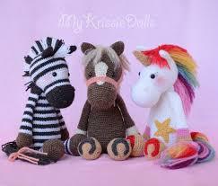 Free Crochet Horse Pattern