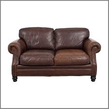 beautifull 68 off brown leather studded sofas gray studded couch