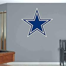 kids room dallas cowboys logo wall art on dallas cowboys logo wall art with kids room dallas cowboys logo wall art lookbooker