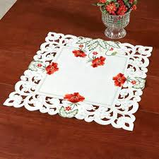 small table cloth red poppies small table topper off white square small tablecloth round small table cloth