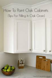how to paint oak cabinets from newtoncustominteriors com learn tips for filling in the