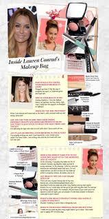 inside lauren conrad s makeup bag