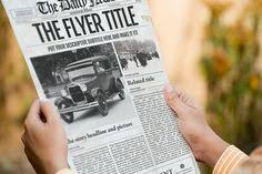 1 Page Newspaper Template Adobe Photoshop (11X17 Inch) | Pinterest ...
