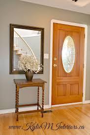 best paint for wood floorsBest 25 Oak wood trim ideas on Pinterest  Entryway paint colors