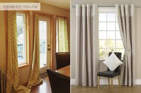 hanging curtains all wrong emily