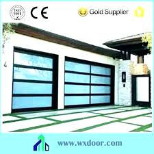 aluminum and gl garage door awesome frosted gl garage door cost doors s overhead