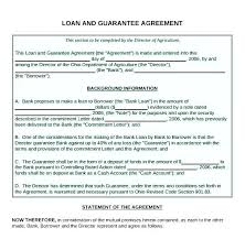 Loan Contract Template Philippines Sample Personal Loan Form