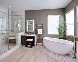 Interesting Wood Tile Flooring Bathroom Look Porcelain Floor Houzz Gray In Decor