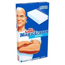 mr clean magic eraser original cleaning pads 4 ct box