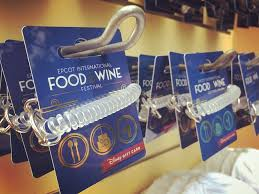 new wearable disney gift card design celebrates 20 years of the epcot international food wine festival