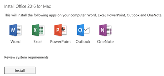 how to install microsoft office on mac install mac ms office 2016 w landesk management suite