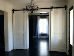 sliding closet barn doors barnwood door hardware convert to white