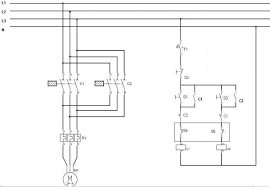 reversing a 3 phase asynchronous motor using limit switches forward reverse switch single phase motor at Ac Motor Reversing Switch Wiring Diagram