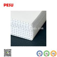 corrugated plastic 24 x 48 4mm white blank sign sheets