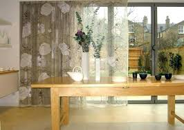 blinds or curtains for sliding patio doors sliding glass door curtains over blinds curtains sliding glass