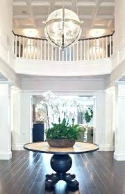 decoration chandelier size for two story foyer chandeliers round table 2 modern