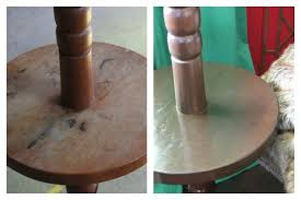 how to refinish wood furniture without