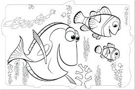 Finding Nemo Coloring Pages Bruce Shark Free For Simple Page