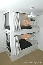 diy bunk beds from network this side fold bunk bed will really save space when not diy bunk beds