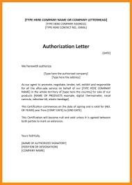 8 Authorised Letter Sample Resume Setups