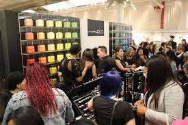 beauty fans and professional makeup artists pile inside for s on their favorite mac beauty s ny mac cosmetics mac cosmetics