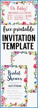 Floral Borders For Word 033 Free Printable Invitation Templates Birthday For Word