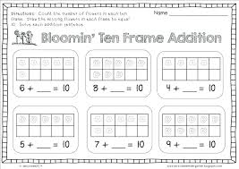 Kindergarten Pictures Color By Numbers For Number Addition ...