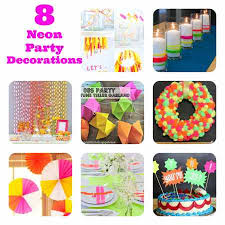 Party Ideas  Neon  Party Ideas