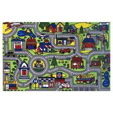 fun area rug 7 x large drive time multi color shaped rugs fun area rug shape high pile sports bright rugs