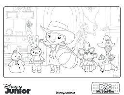 Disney Jr Coloring Pages Printable Disney Jr Christmas Coloring