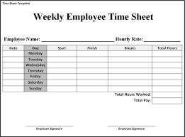 printable employee time sheets free printable weekly employee timesheet template 1431
