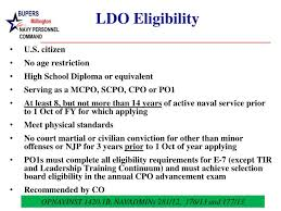 Opnavinst 1420 1b Ppt Ldo And Cwo Brief Your Relief 2014 Powerpoint Presentation