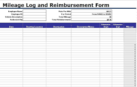 Free Mileage Forms 30 Printable Mileage Log Templates Free Template Lab