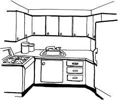 Disegnare Cucina Txdf Disegno Di Cucina Da Colorare Disegni Da