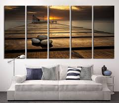 extra large wall art canvas stones on wood pier wall art sunset on ocean canvas on extra large ocean wall art with extra large wall art canvas stones on wood pier wall art sunset on