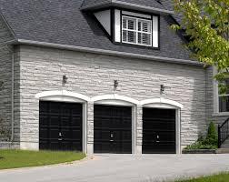 black garage doors60 residential garage door designs pictures within black garage