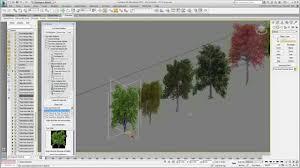 Civil View 3ds Max Design Tutorials Using 3ds Max Design With Civil 3d Part 22 Adding Trees