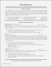 Seafarer Resume Sample Sample Resume Template for Seafarers Inspirational Culinary Resume 43