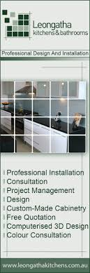Leongatha Kitchens  Bathrooms Kitchen Renovations  Designs - Kitchens bathrooms