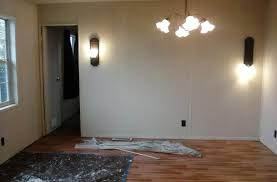 on the walls that was covered in spots and stains the whole house was painted in flat paint as a matter of fact flat paint is impossible to clean