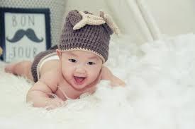 Baby Smiling Free Stock Photo