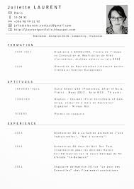 Resume In French Resume In French 10