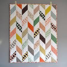 The 25+ best Modern baby quilts ideas on Pinterest | Baby quilt ... & https://flic.kr/p/Egxj8i | Plaid Herringbone Baby Quilt Adamdwight.com