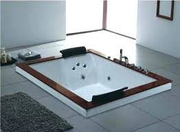 two person bathtub bathtubs for a romantic couple 2 spa tub with jets jet bath leaking